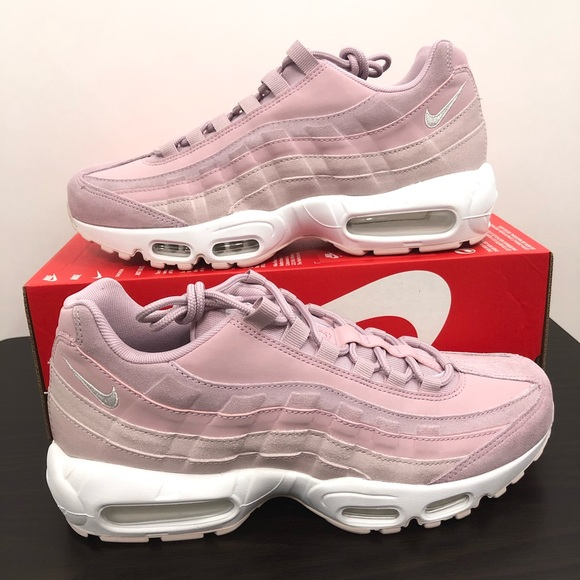 new product 68007 7908e Nike Womens Air Max 95 Premium Pink Size 10 NWT